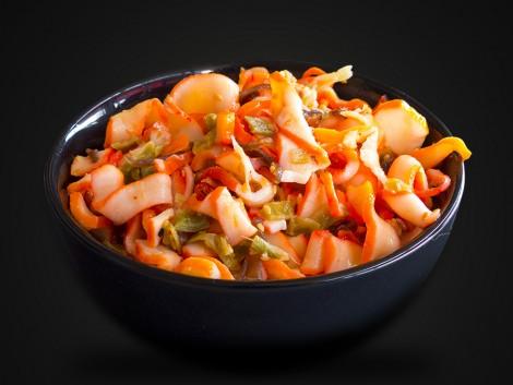 Salade de calmars & d'algues