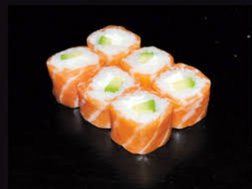 Saumon roll avocat cheese