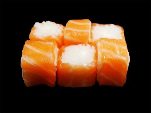 Saumon roll cheese
