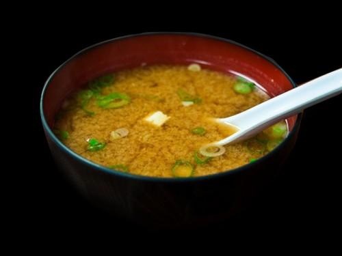 Soupe shitake